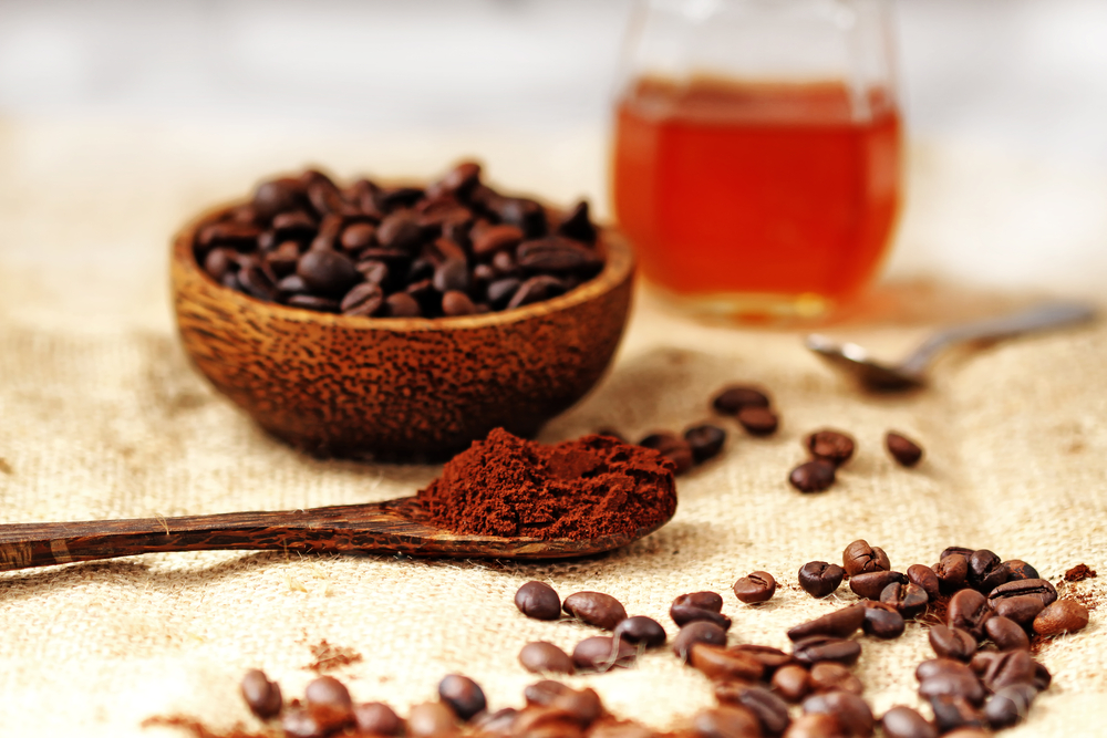 coffee ground face mask ingredients